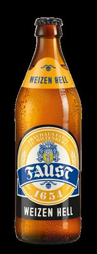 Faust Weizen Hell