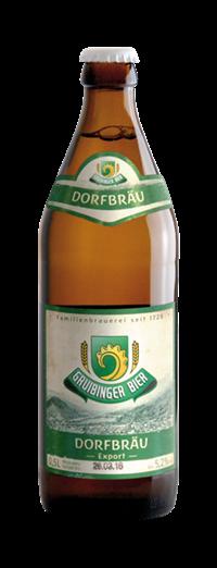 Gruibinger Dorfbräu Export