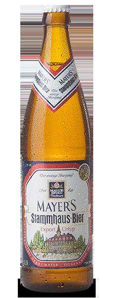 Mayer's Brauwerk Stammhaus-Bier Export Urtyp